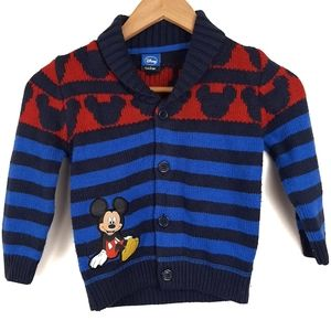 Disney by George Mickey Mouse Knit Cardigan